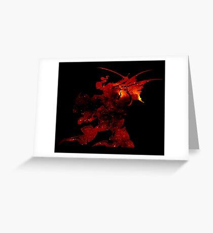 °FINAL FANTASY° Final Fantasy VI Space Logo Greeting Card