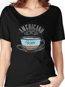 Americano Coffee Women's Relaxed Fit T-Shirt