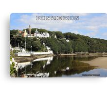Portmeirion. Canvas Print