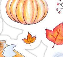 Fall Sticker