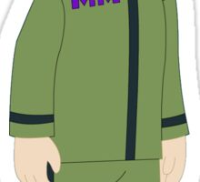 Major Monogram Phineas and Ferb Sticker