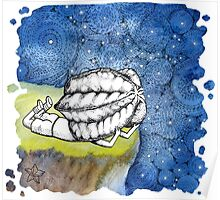 Starry Night - art from Karambola Poster