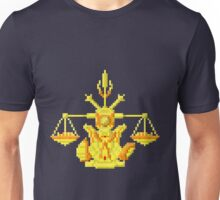 Libra Armor - Saint Seya Pixel Art Unisex T-Shirt