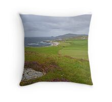 View from Malin Head Throw Pillow