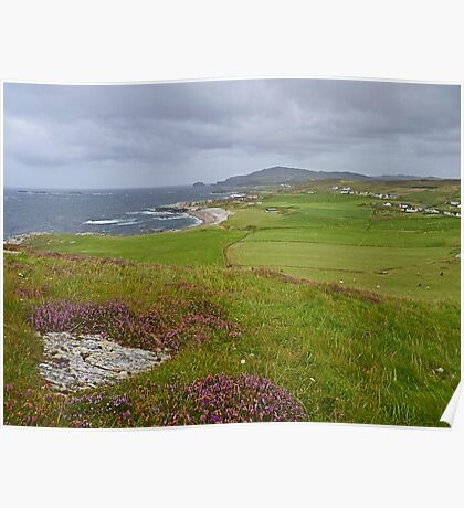 View from Malin Head Poster