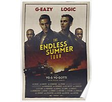 THE ENDLESS SUMMER TOUR 2016 Poster