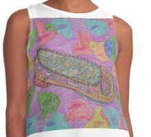 The wonderful shoes dream Contrast Tank
