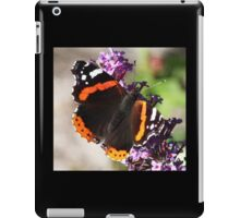 One more Red Admiral butterfly iPad Case/Skin