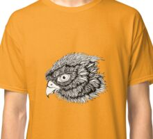 Black and white eagle, hand drawn Classic T-Shirt