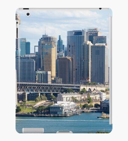 Sydney Harbour Bridge and City Centre iPad Case/Skin