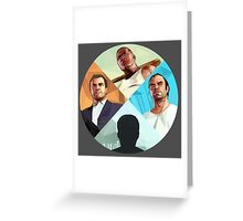 Select Your Character - GTA Greeting Card