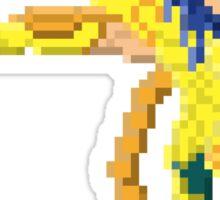 Scorpio Milo - Saint Seya Pixel Art Sticker