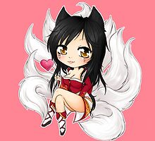 Ahri chibi - League of Legends by linkitty