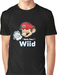 Mario - Mario Time ! Red Variant Graphic T-Shirt