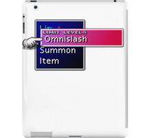 Somethimes you just need to Omnislash! iPad Case/Skin