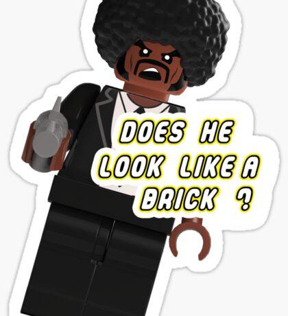 Brick Fiction Parody Variant 03 Sticker