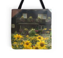 Old Austrian House Tote Bag