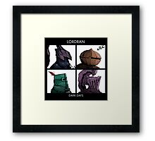 Bros of Lordran Framed Print