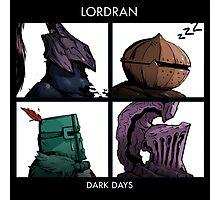 Bros of Lordran Photographic Print