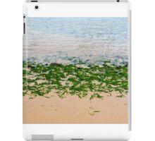 Youghal bright green seaweed iPad Case/Skin