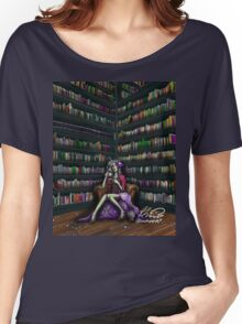 The Ghoul in the Study Women's Relaxed Fit T-Shirt