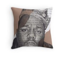 Notorious B.I.G. - Juicy Throw Pillow