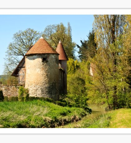 Chateau at Messey Sticker
