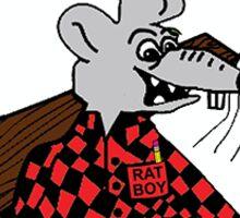 Ratboy Lumber Sticker Sticker