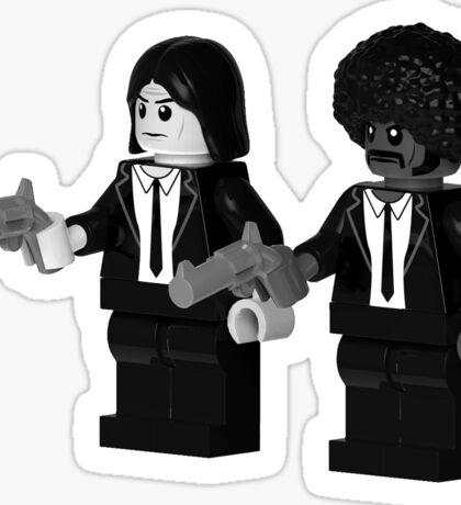 Brick Fiction Parody Variant 01 Sticker