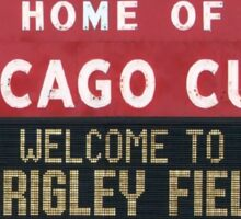 Wrigleyville Sticker