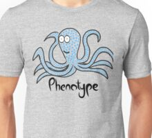 Blue-squared octopus Unisex T-Shirt
