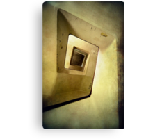 Square staircase Canvas Print