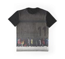 Bike Rack Graphic T-Shirt