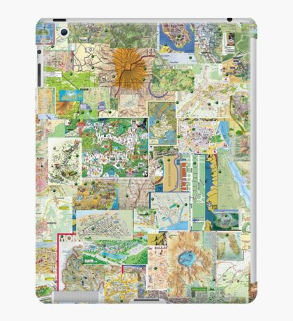 69 Maps iPad Case/Skin