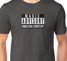 Magic Advisory Unisex T-Shirt