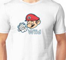 Mario - Plain White Variant Unisex T-Shirt