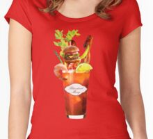 Bloodiest Mary Women's Fitted Scoop T-Shirt