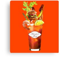 Bloodiest Mary Canvas Print
