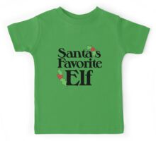 Santas Favorite Elf Kids Tee