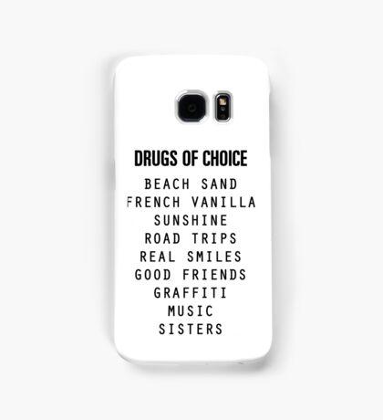 Drugs of Choice Samsung Galaxy Case/Skin