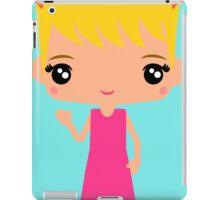 Cute Emma waving - Hello World - iPad Case/Skin