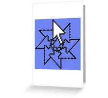 Cursor Greeting Card