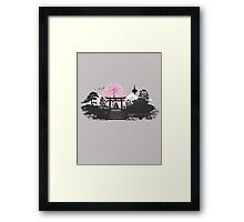 Sakura - Kyoto Japan Framed Print