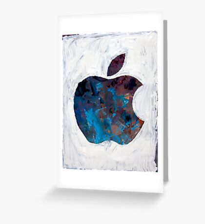 Painted Apple Greeting Card