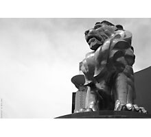 The MGM Lion Photographic Print