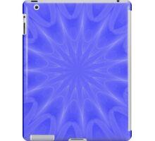 Blue Starburst Art iPad Case/Skin