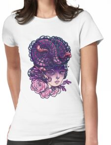 Sureallistic Woman Womens Fitted T-Shirt