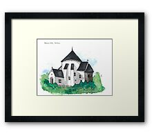 Østerlars Church, Bornholm Framed Print