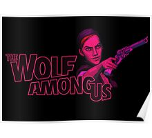The Wolf Among Us - Logo and Bloody Mary Poster