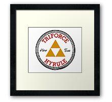 Zelda All Star Framed Print